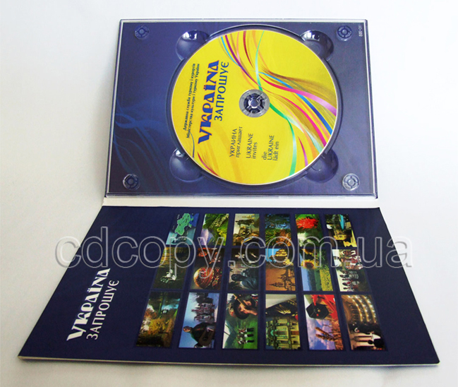 Упаковка Диджипак (DigiPack) для 1 DVD